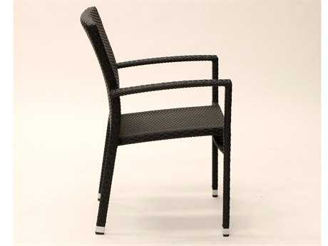 Koverton Soho Arm Stacking Wicker Dining Chair - Frame