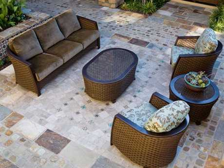 Koverton Luxe Wicker Lounge Set