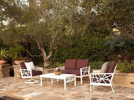 Koverton Parkview Knest Cast Aluminum Lounge Set