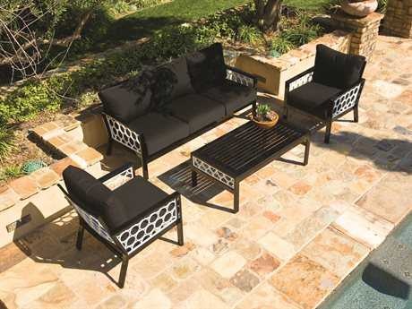 Koverton Parkview Cast Aluminum Lounge Set