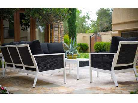 Koverton Parkview Woven Wicker Lounge Set