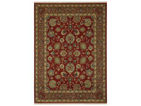 Karastan Rugs Sovereign Rectangular Sultana Red Area Rug