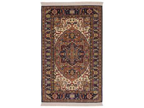 Karastan Rugs English Manor Windsor Rectangular Brown Area Rug
