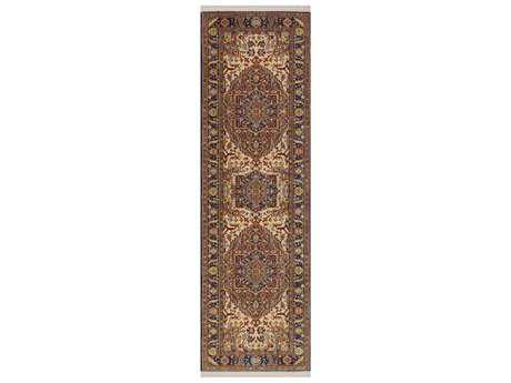 Karastan Rugs English Manor Windsor Rectangular Brown Runner Rug