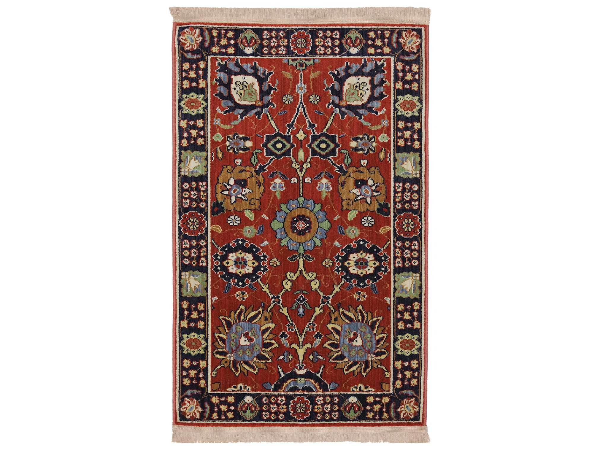 Karastan Rugs English Manor Cambridge Rectangular Crimson