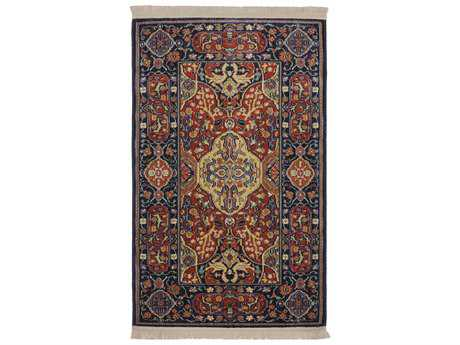Karastan Rugs English Manor Hampton Court Rectangular Brick Red Area Rug