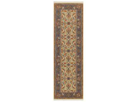 Karastan Rugs English Manor Brighton Rectangular Wheat Runner Rug