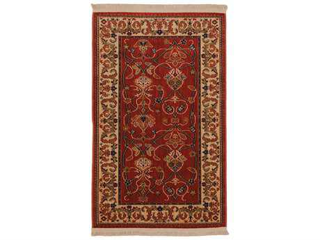 Karastan Rugs English Manor William Morris Rectangular Pepper Red Area Rug