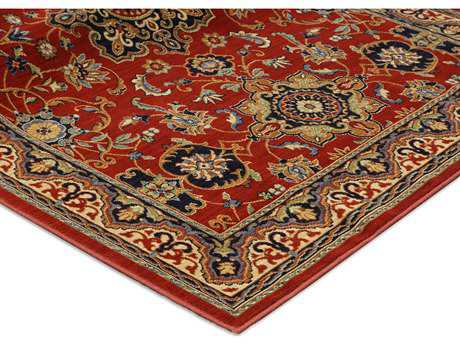 Karastan Rugs English Manor Manchester Rectangular Red Area Rug