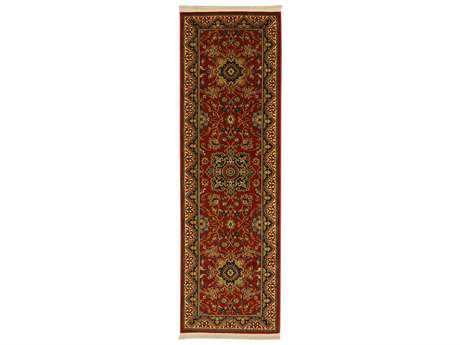 Karastan Rugs English Manor Manchester Rectangular Red Runner Rug