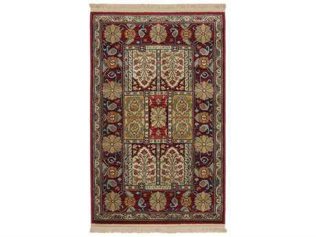 Karastan Rugs Antique Legends Bakhtiyari Rectangular Crimson Red Area Rug