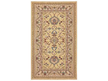 Karastan Rugs Sierra Mar Ventana Rectangular Maize Area Rug