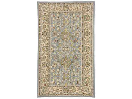 Karastan Rugs Sierra Mar Rectangular Robins Egg Blue Area Rug