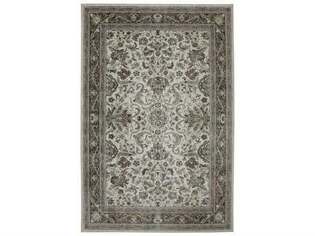 Karastan Rugs Euphoria Newbridge Rectangular Cream Area Rug