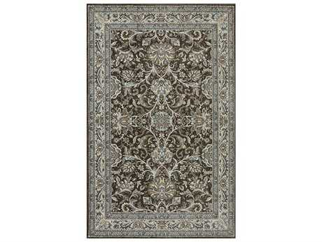 Karastan Rugs Euphoria Newbridge Rectangular Brown Area Rug