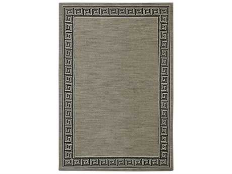 Karastan Rugs Pacifica Collier Rectangular Gray Area Rug