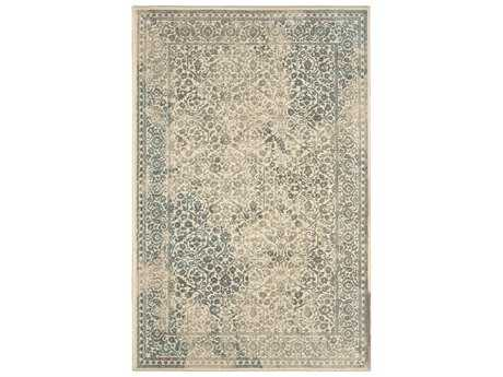 Karastan Rugs Euphoria Ayr Rectangular Natural Cotton Area Rug