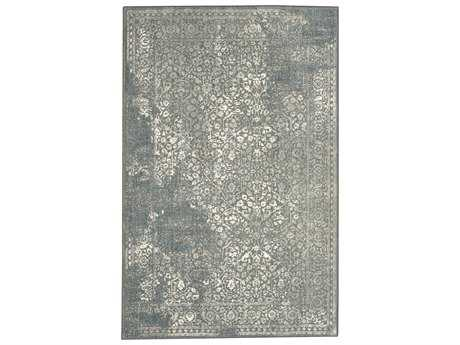 Karastan Rugs Euphoria Ayr Rectangular Willow Gray Area Rug