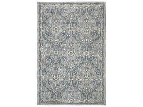 Karastan Rugs Euphoria Galway Rectangular Willow Grey Area Rug