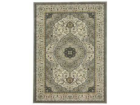 Karastan Rugs Touchstone Avonmore Rectangular Willow Grey Area Rug