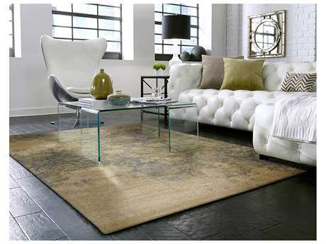 Karastan Rugs Evanescent Bari Rectangular Gray Area Rug