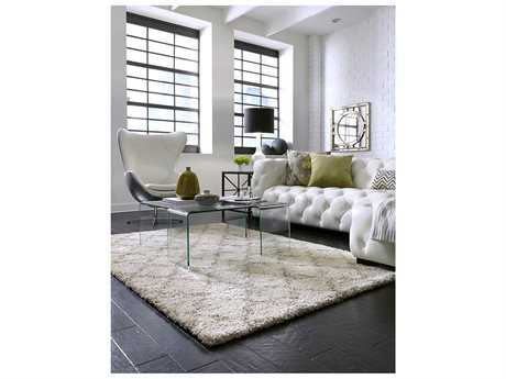 Karastan Rugs Prima Temara Rectangular Lattice Camel Area Rug