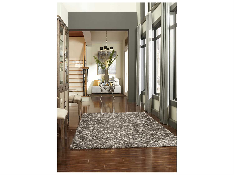 Karastan rugs prima shag zenata rectangular taupe area rug for Chaise zenata