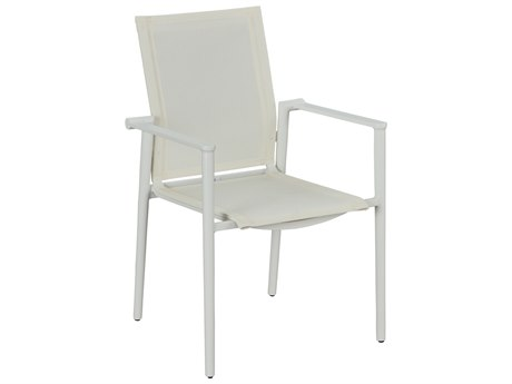 Lane Venture Essentials Aluminum Tyler Stackable Dining Arm Chair