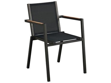 Lane Venture Essentials Aluminum James Stackable Dining Arm Chair