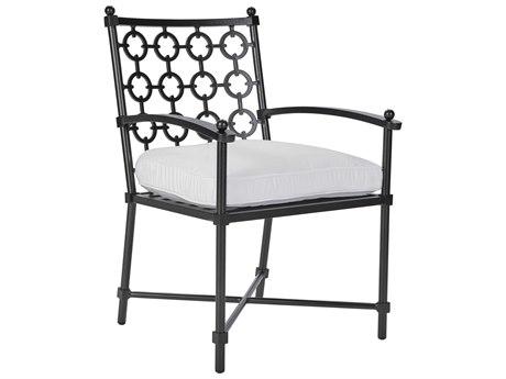 Lane Venture Langham Dark Bronze Aluminium Dining Chair