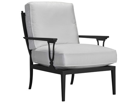 Lane Venture Winterthur Aluminum Lounge Chair Mesh Back