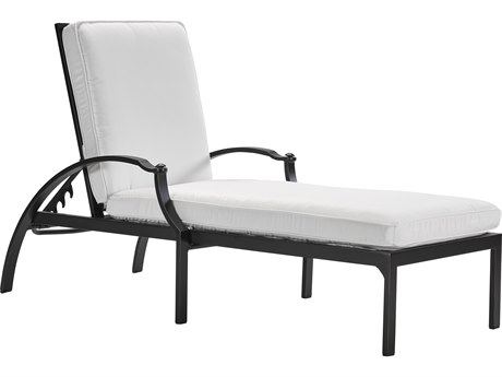 Lane Venture Raleigh Cast Aluminum Adjustable Chaise Lounge