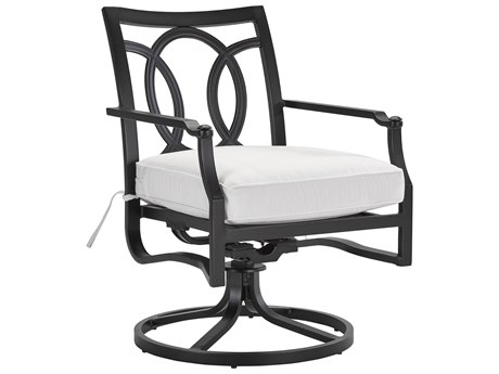 Lane Venture Raleigh Cast Aluminum Swivel Dining Chair