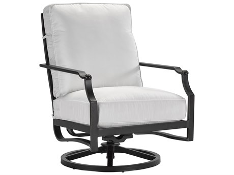 Lane Venture Raleigh Cast Aluminum Swivel Rocker Lounge Chair