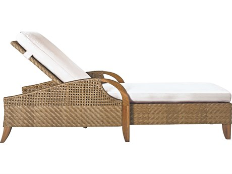 Lane Venture Edgewood Teak Adjustable Chaise