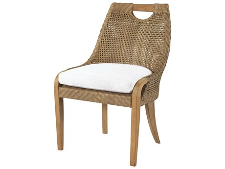 Lane Venture Edgewood Teak Dining Side Chair