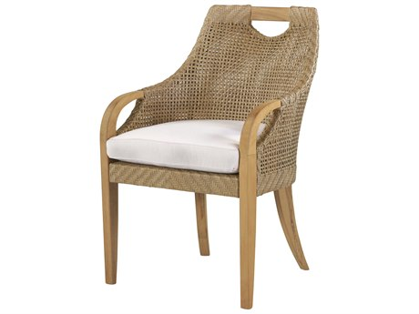 Lane Venture Edgewood Teak Dining Arm Chair