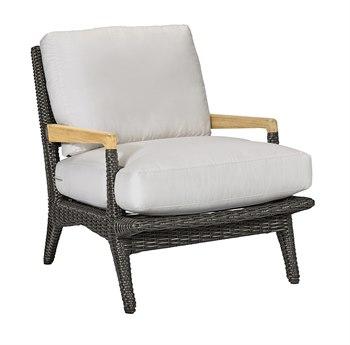 Lane Venture Cooper Wicker Lounge Chair