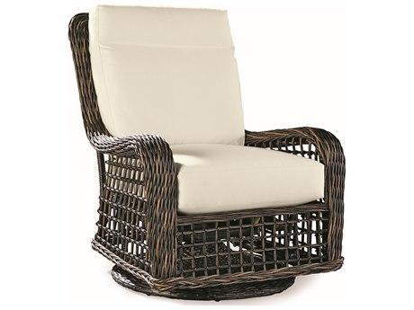 Lane Venture Moraya Bay Wicker Swivel Glider Lounge Chair