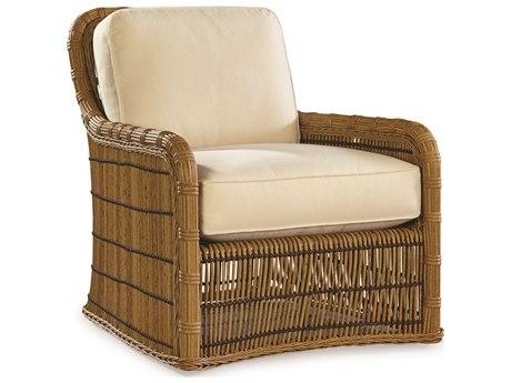 Lane Venture Rafter by Celeri Kemble Straw Wicker Louge Chair