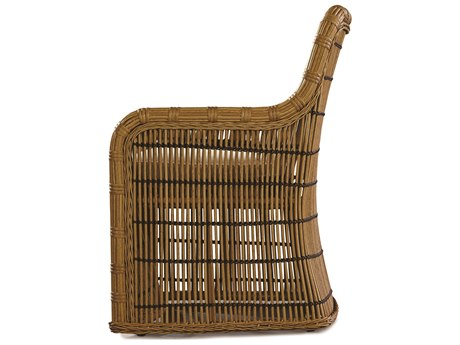 Lane Venture Rafter by Celeri Kemble Straw Wicker Dining Chair