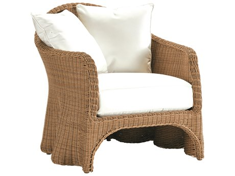 Lane Venture Crespi Wave by Celerie Kemble Mohave Wicker Lounge Chair