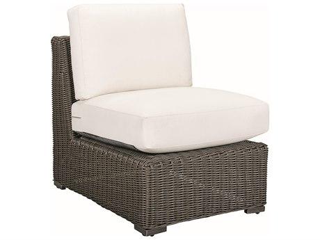 Lane Venture Fillmore Wicker Armless Lounge Chair