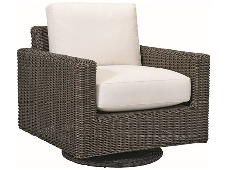 Lane Venture Fillmore Wicker Swivel Glider Lounge Chair