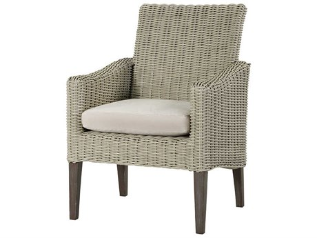 Lane Venture Requisite Wicker Dining Arm Chair