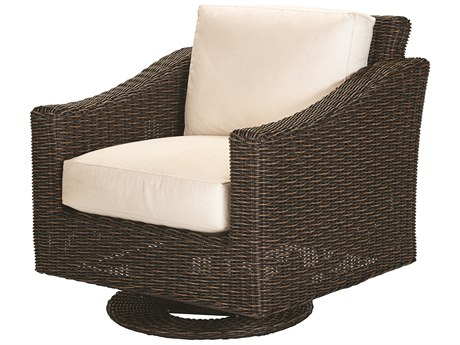 Lane Venture Requisite Wicker Swivel Glider Lounge Chair