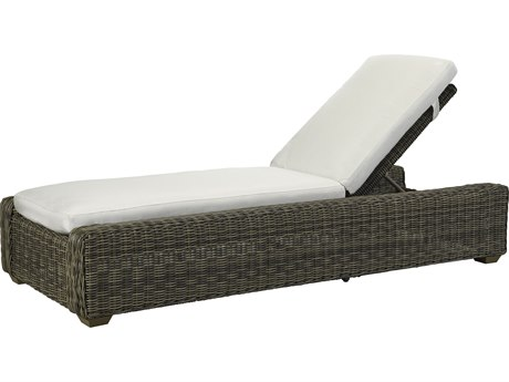 Lane Venture Oasis Ash Wicker Adjustable Chaise Lounge