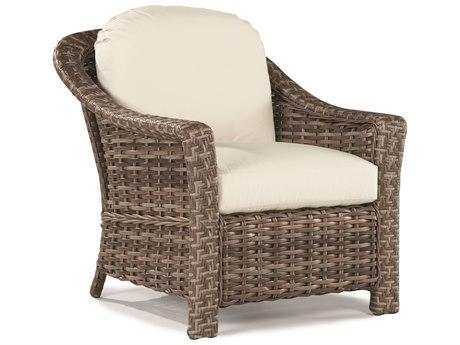 Lane Venture St. Simons Driftwood Wicker Lounge Chair