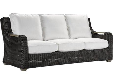 Lane Venture Hemingway Cay Coffee Wicker Sofa