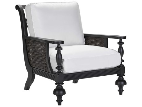 Lane Venture Hemingway Plantation Black Truffle Cast Aluminum Lounge Chair